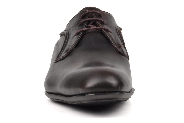Schnürschuhe Kost Kleberi braun schuhe getragen