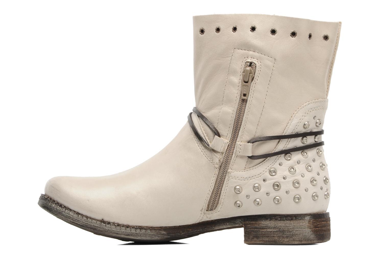 Bottines et boots Khrio Berta Beige vue face