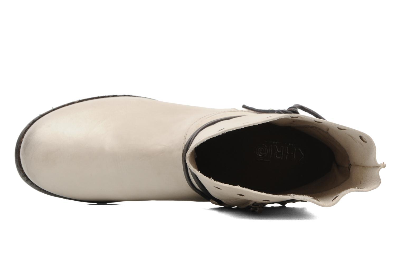 Bottines et boots Khrio Berta Beige vue gauche