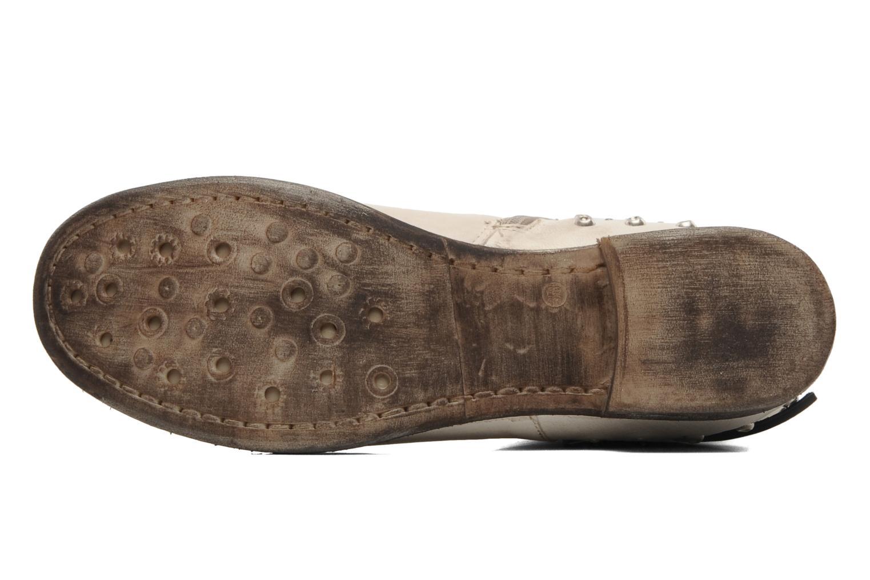 Bottines et boots Khrio Berta Beige vue haut