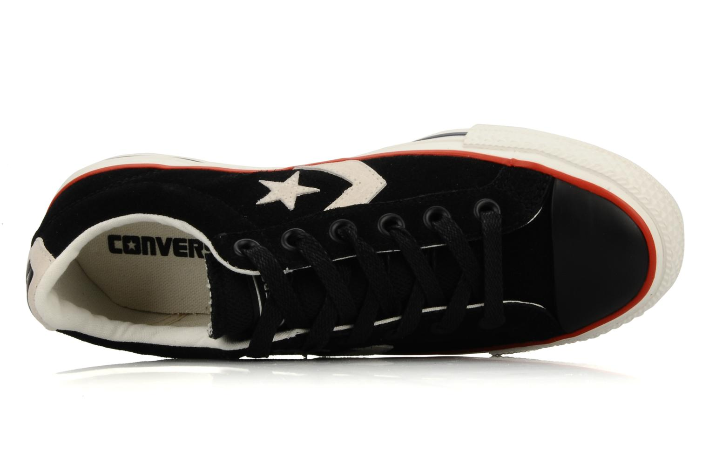 Sneakers Converse Star Player Ev Suede Ox W Nero immagine sinistra