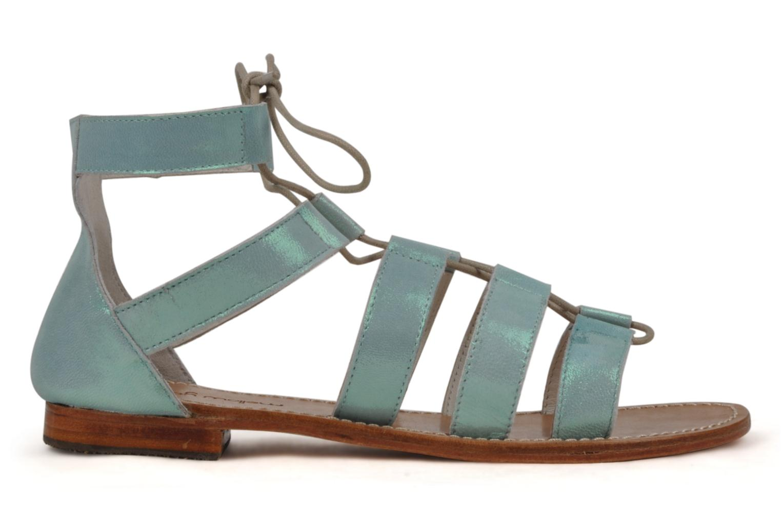 Sandals Mellow Yellow Hirondelle Blue back view