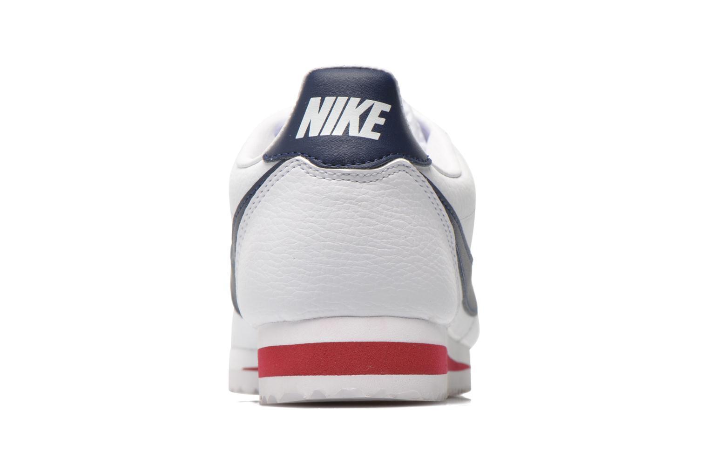 Sneaker Nike Classic Cortez Leather weiß ansicht von rechts