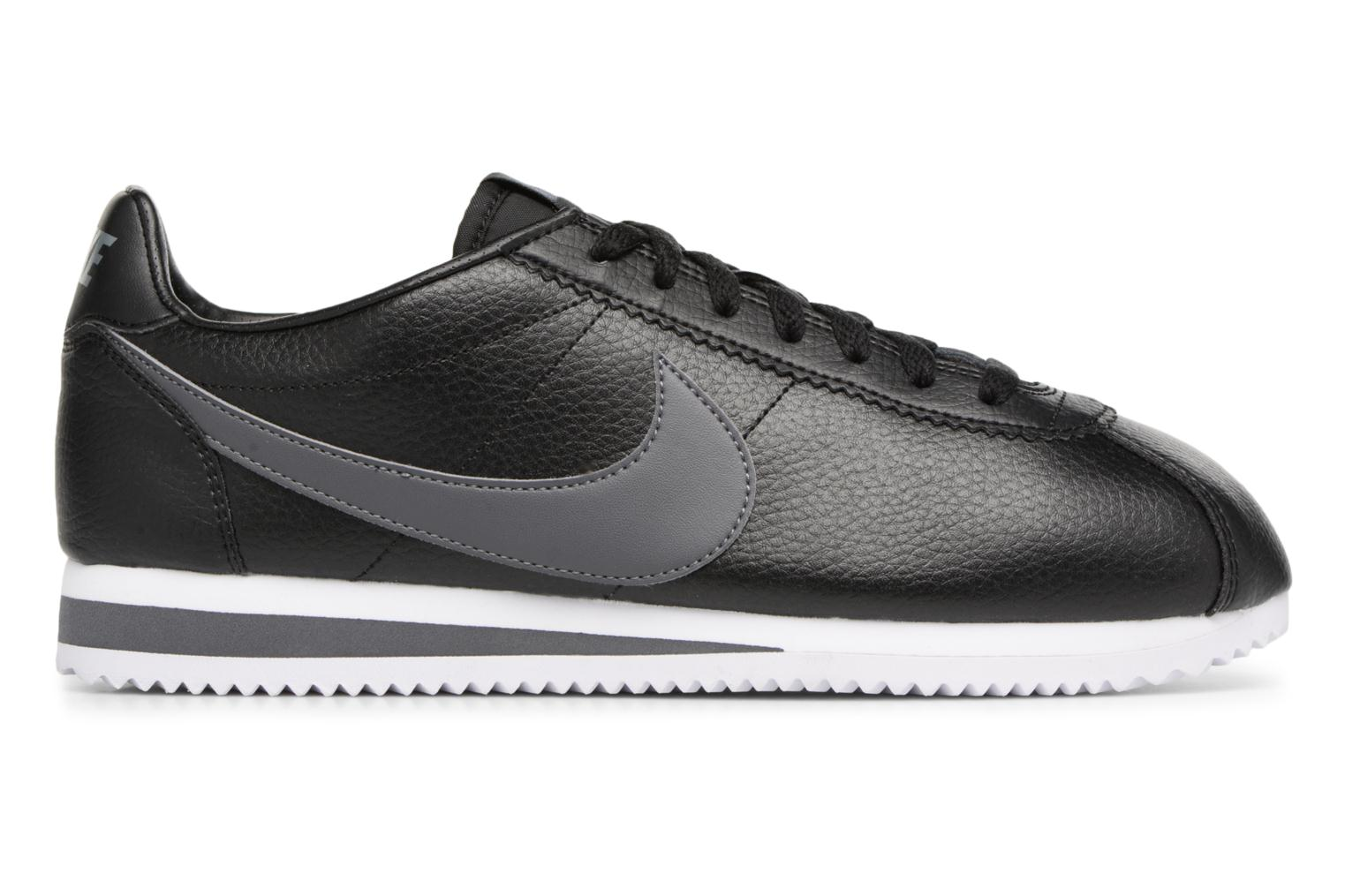 Sneakers Nike Classic Cortez Leather Nero immagine posteriore