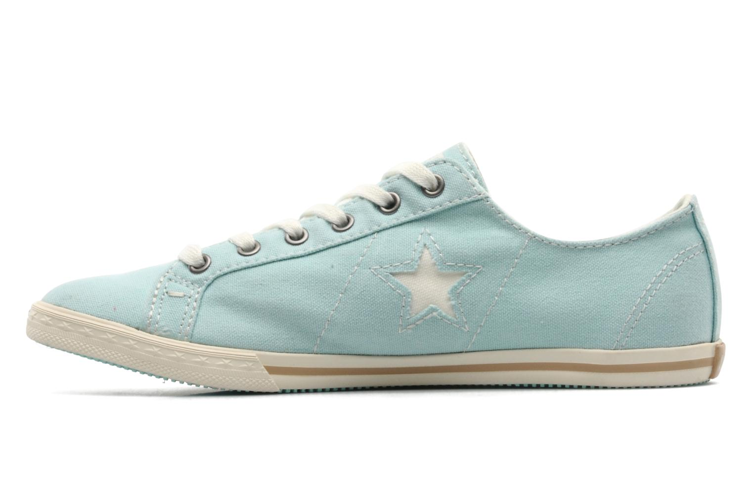 Trainers Converse One Star Low Profile Canvas Ox W Green front view