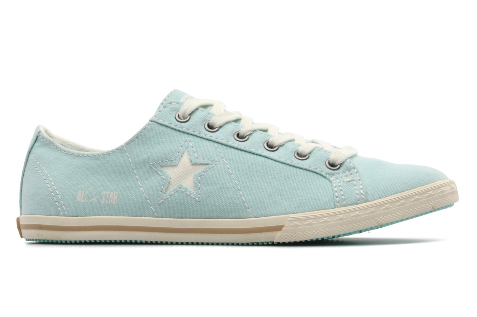Trainers Converse One Star Low Profile Canvas Ox W Green back view