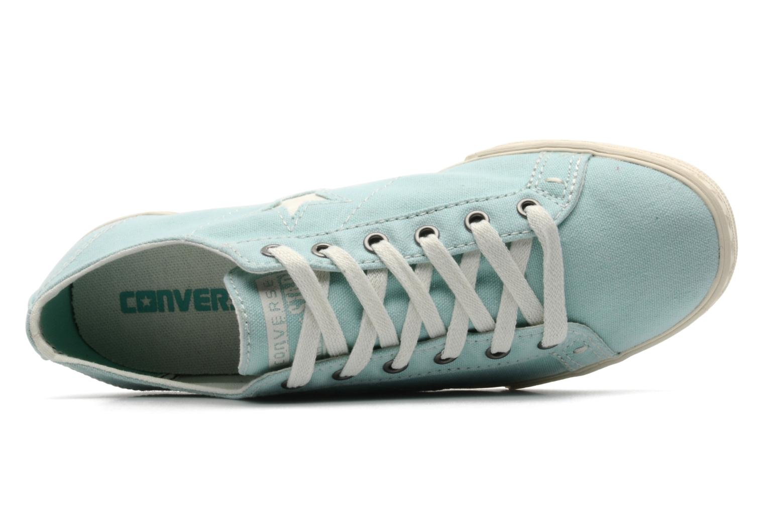 Trainers Converse One Star Low Profile Canvas Ox W Green view from the left