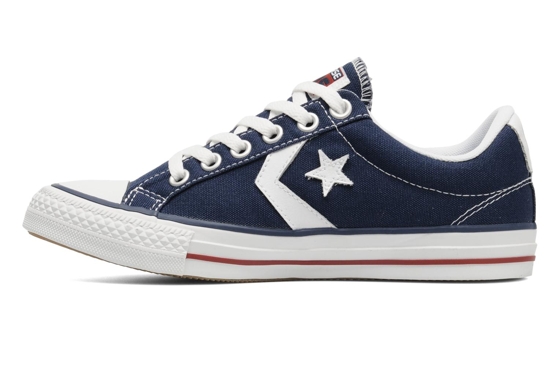 Sneaker Converse Star Player Ev Canvas Ox W blau ansicht von vorne