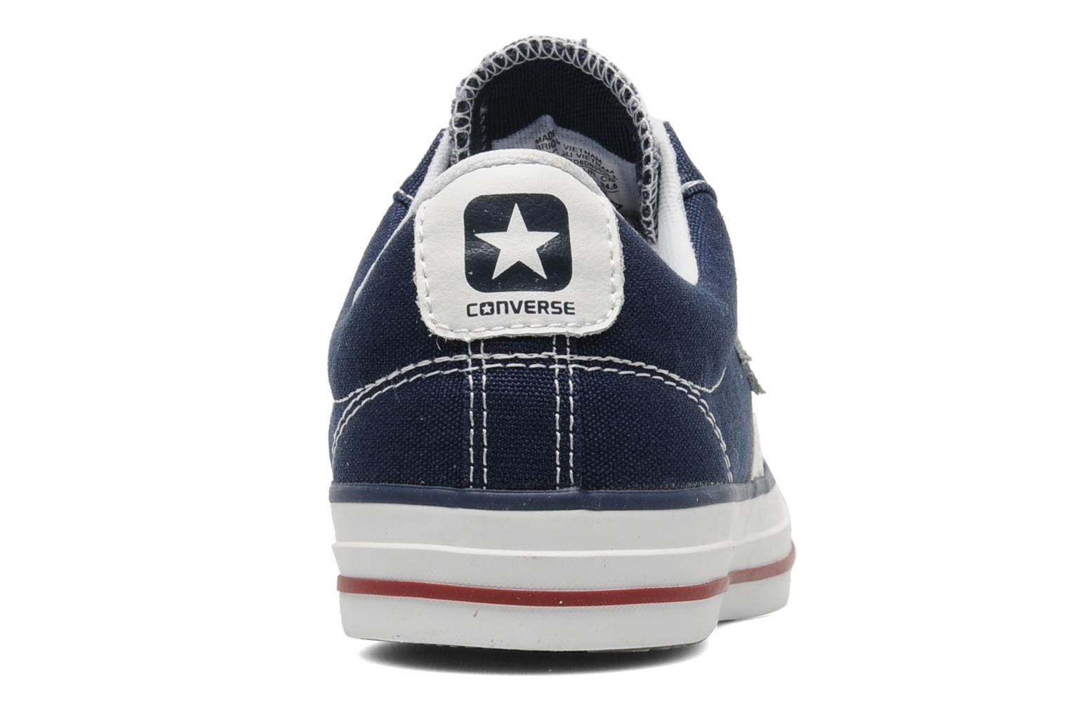 Baskets Converse Star Player Ev Canvas Ox W Bleu vue droite