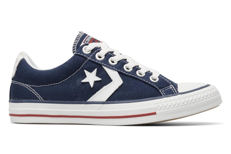 Sneaker Converse Star Player Ev Canvas Ox W blau ansicht von hinten