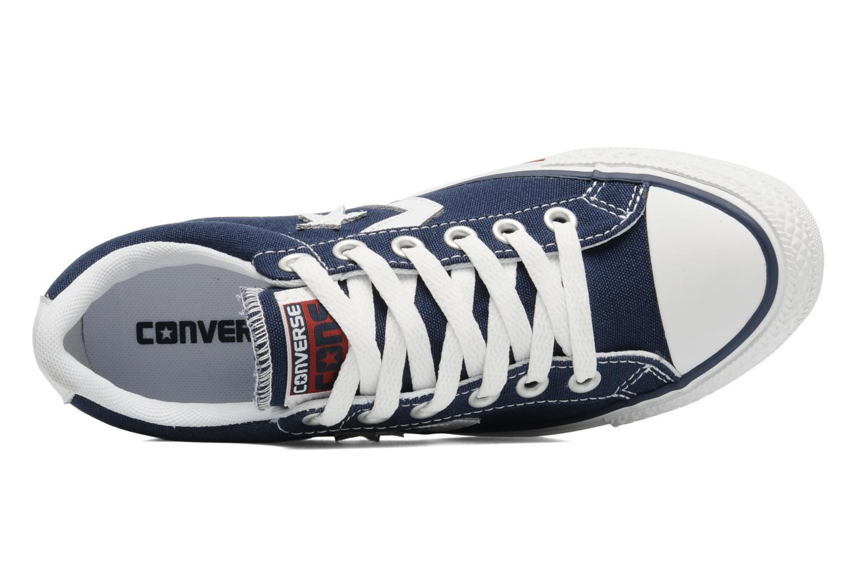 Sneaker Converse Star Player Ev Canvas Ox W blau ansicht von links