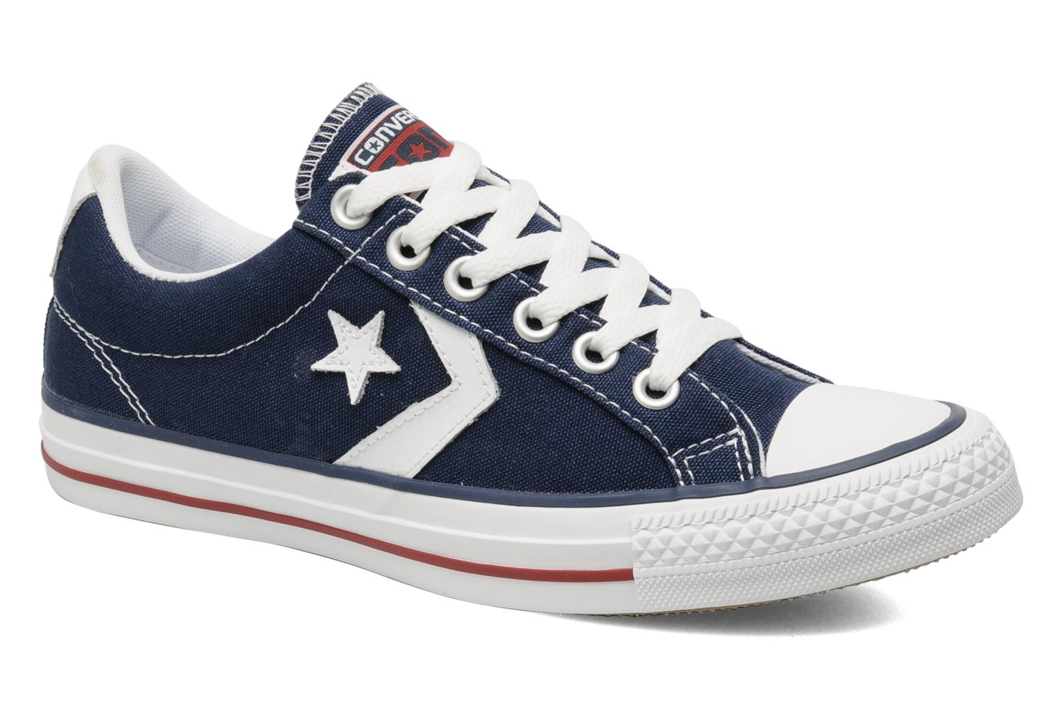 Baskets Converse Star Player Ev Canvas Ox W Bleu vue détail/paire