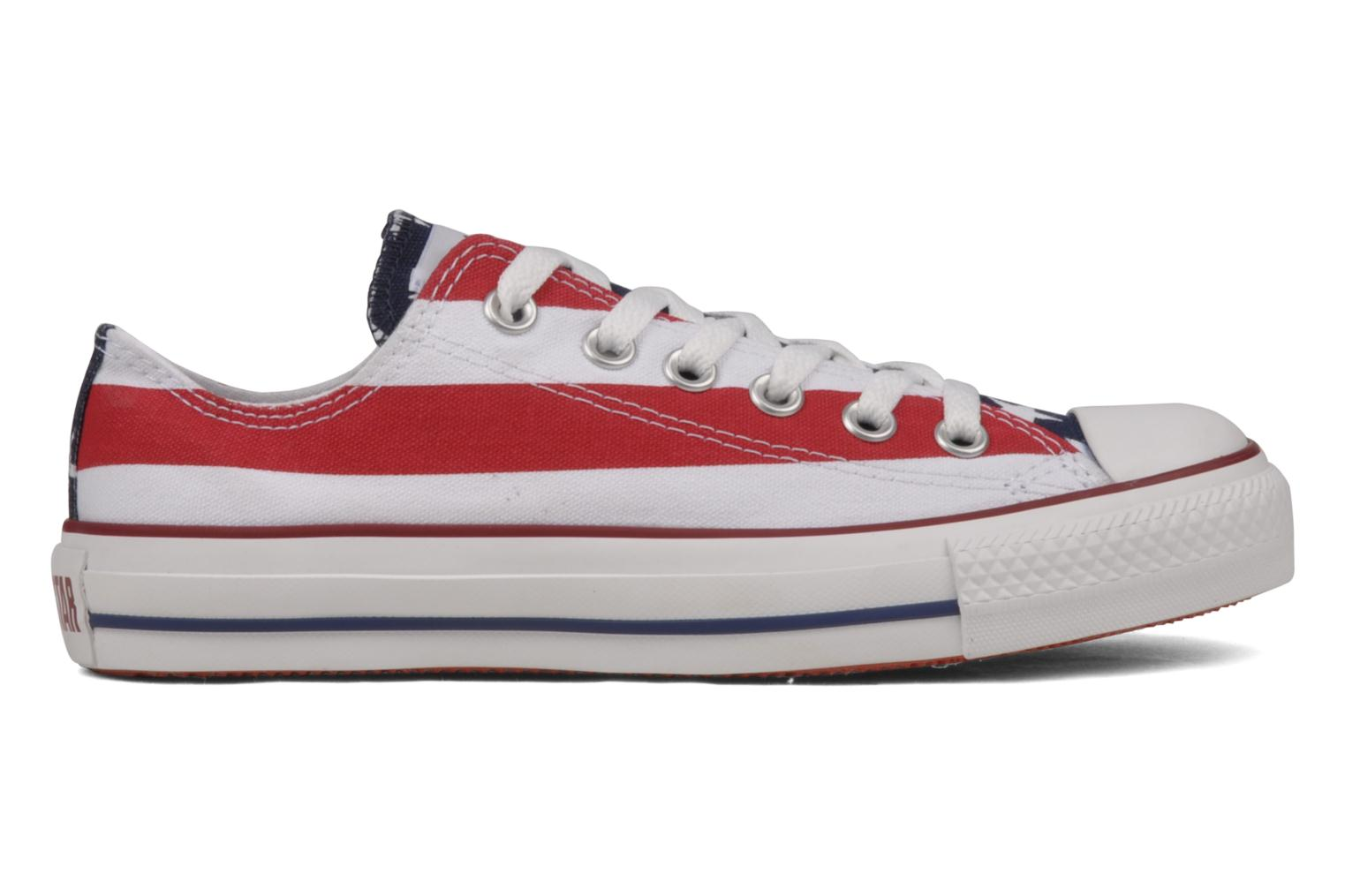 Sneakers Converse Chuck Taylor All Star Stars & Bars ox w Bianco immagine posteriore