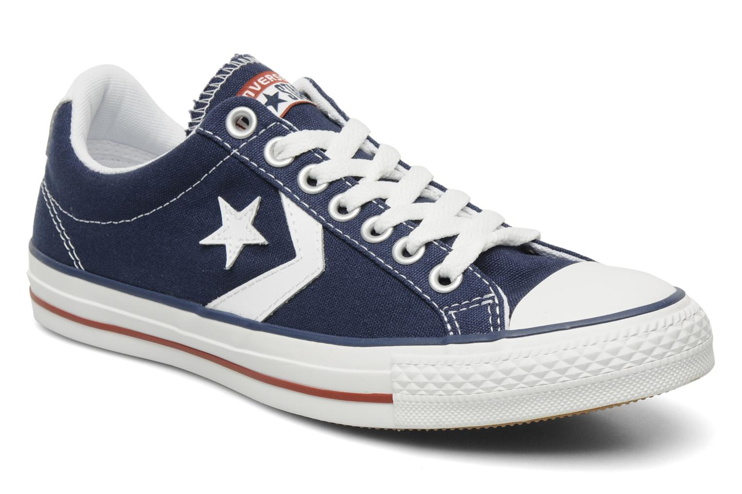 Converse STAR PLAYER OX Blue - Chaussures Basket Homme