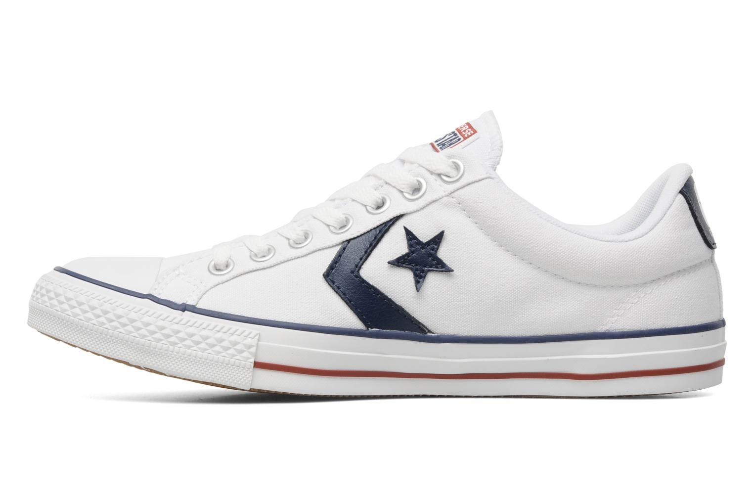 Sneakers Converse Star Player Ev Canvas Ox M Bianco immagine frontale