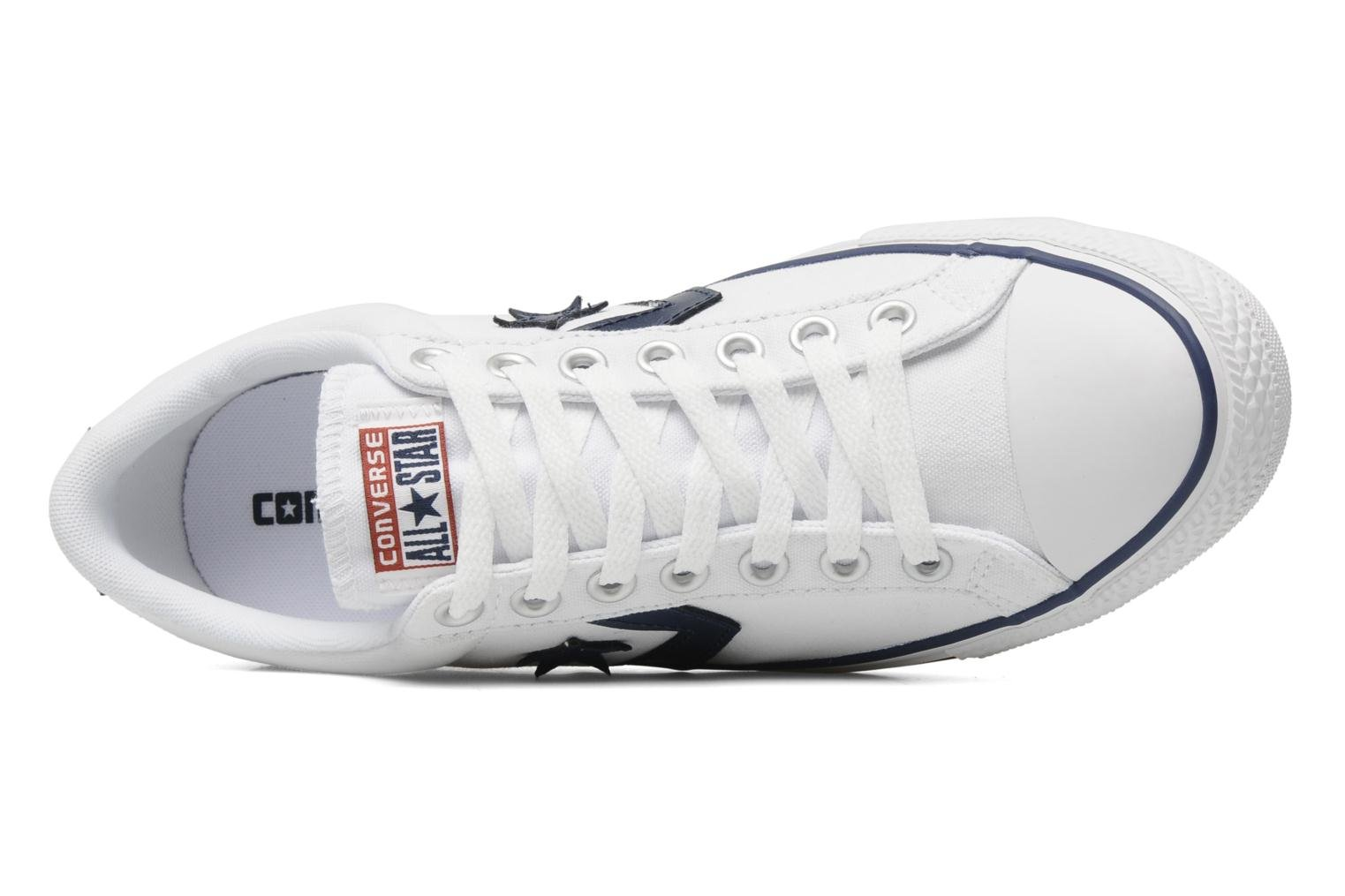 Sneakers Converse Star Player Ev Canvas Ox M Bianco immagine sinistra