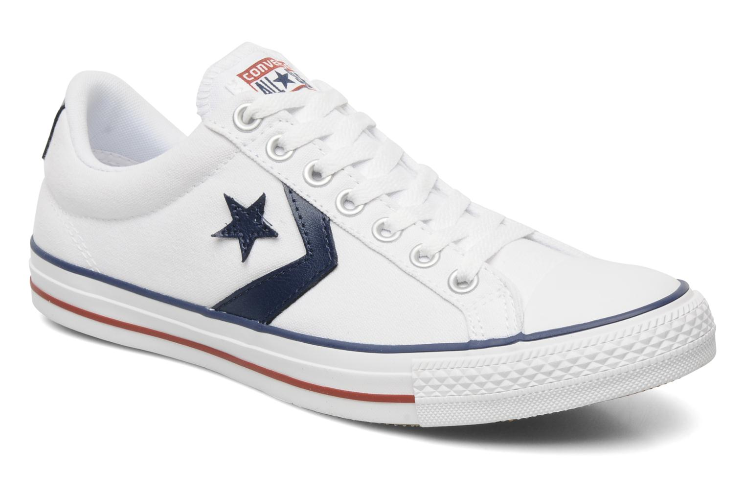 Star Player Ev Canvas Ox M White-Navy