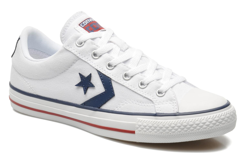 Sneakers Converse Star Player Ev Canvas Ox M Bianco vedi dettaglio/paio