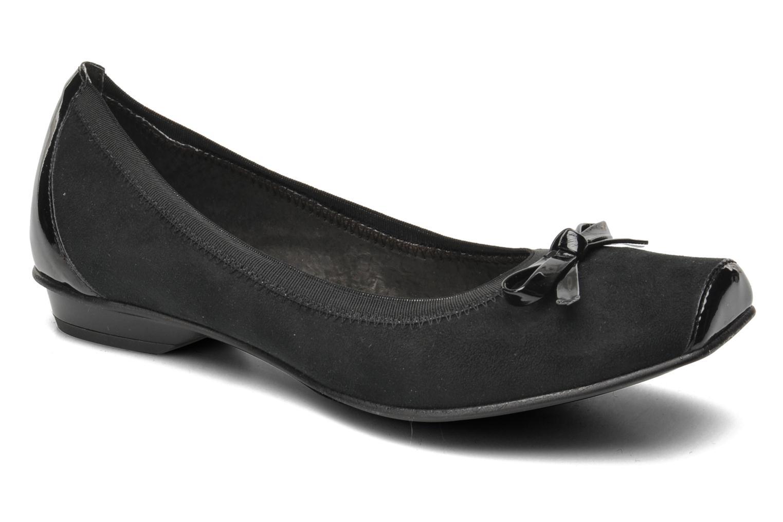 Ballerinaer JB MARTIN Yeti Sort detaljeret billede af skoene