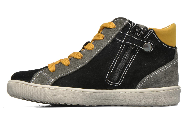 Sneaker Primigi Stripe schwarz ansicht von vorne