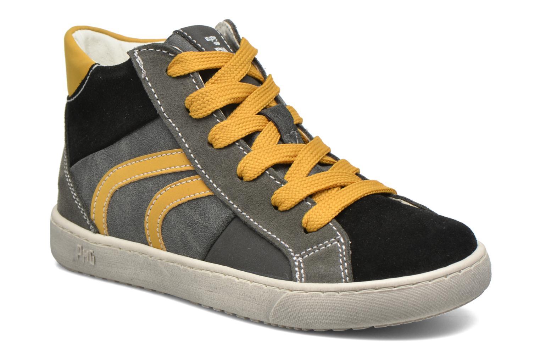 Baskets Primigi Stripe Noir vue détail/paire