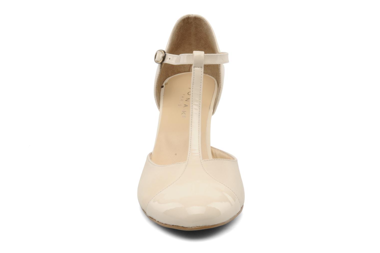 Escarpins Jonak Lina Beige vue portées chaussures