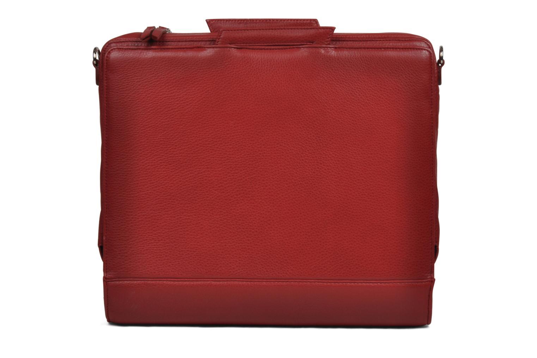 Business Lin & Gelli Elegy Laptop Rojo vista de detalle / par