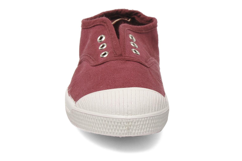 Baskets Bensimon Tennis Elly E Rose vue portées chaussures