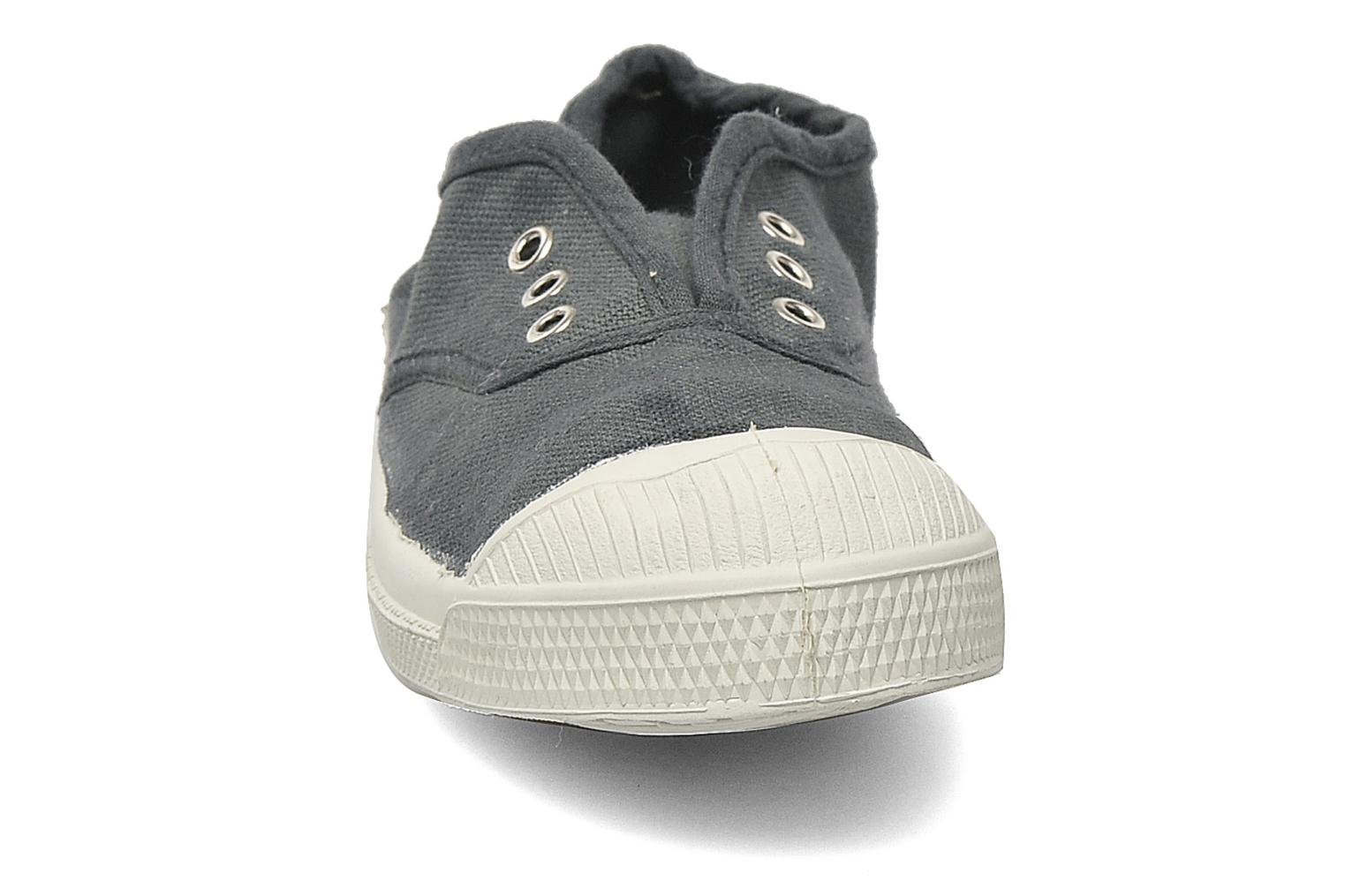 Trainers Bensimon Tennis Elly E Grey model view