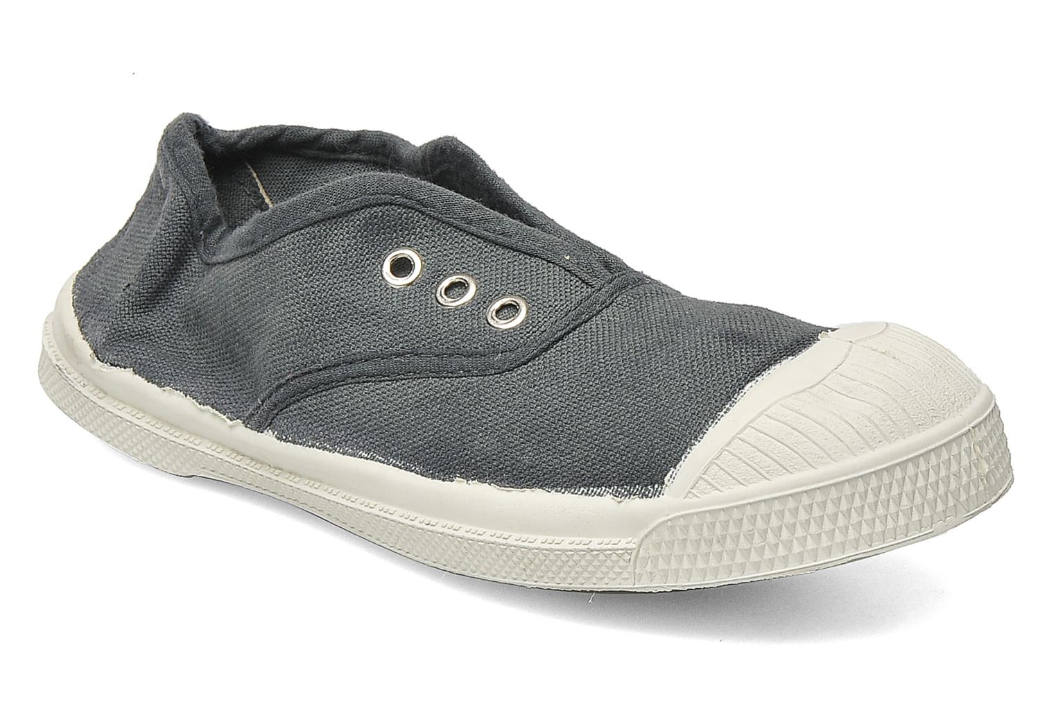 Trainers Bensimon Tennis Elly E Grey detailed view/ Pair view
