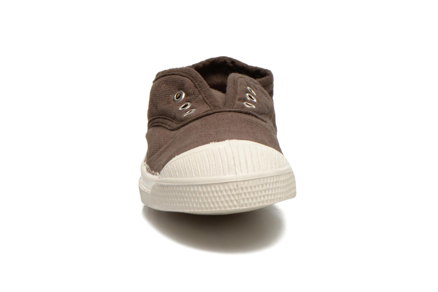 Trainers Bensimon Tennis Elly E Brown model view