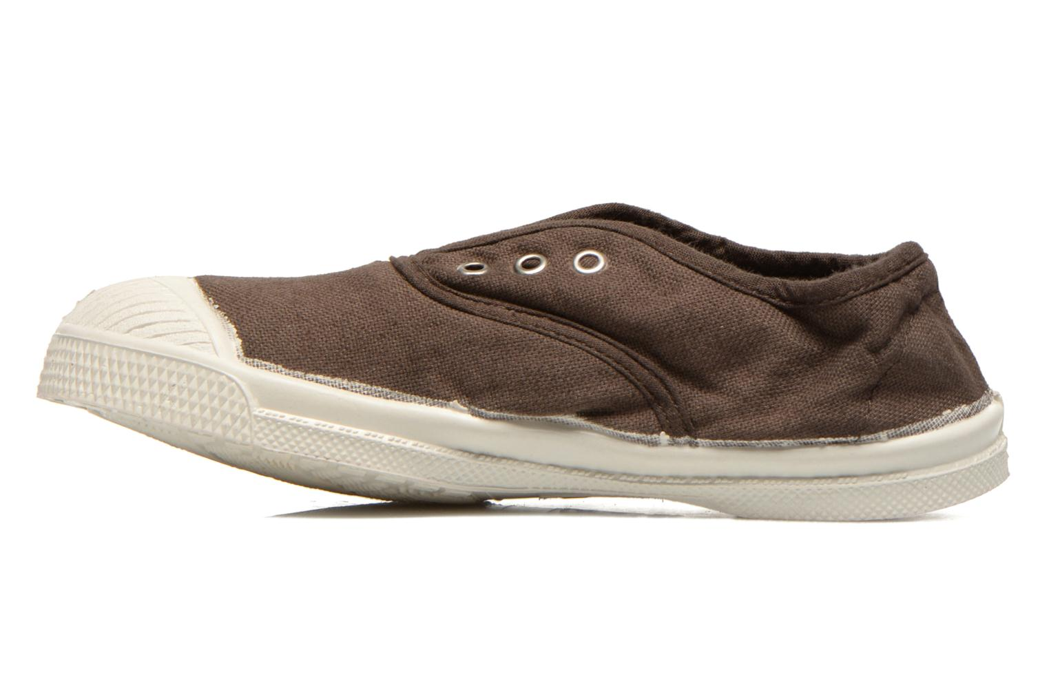 Trainers Bensimon Tennis Elly E Brown front view