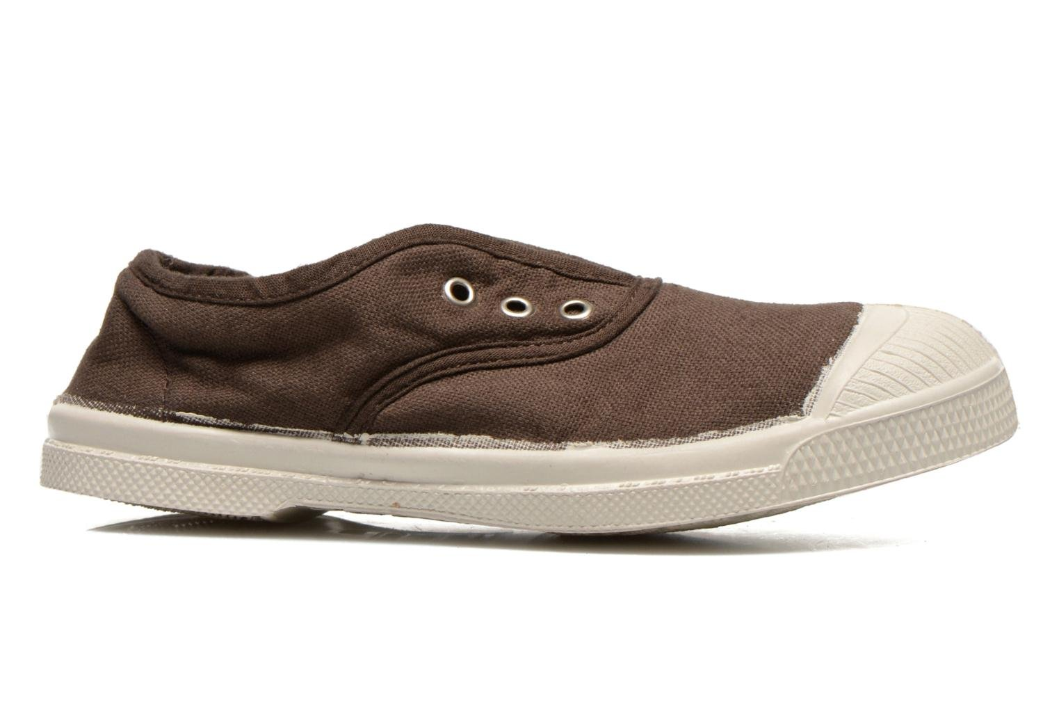 Trainers Bensimon Tennis Elly E Brown back view