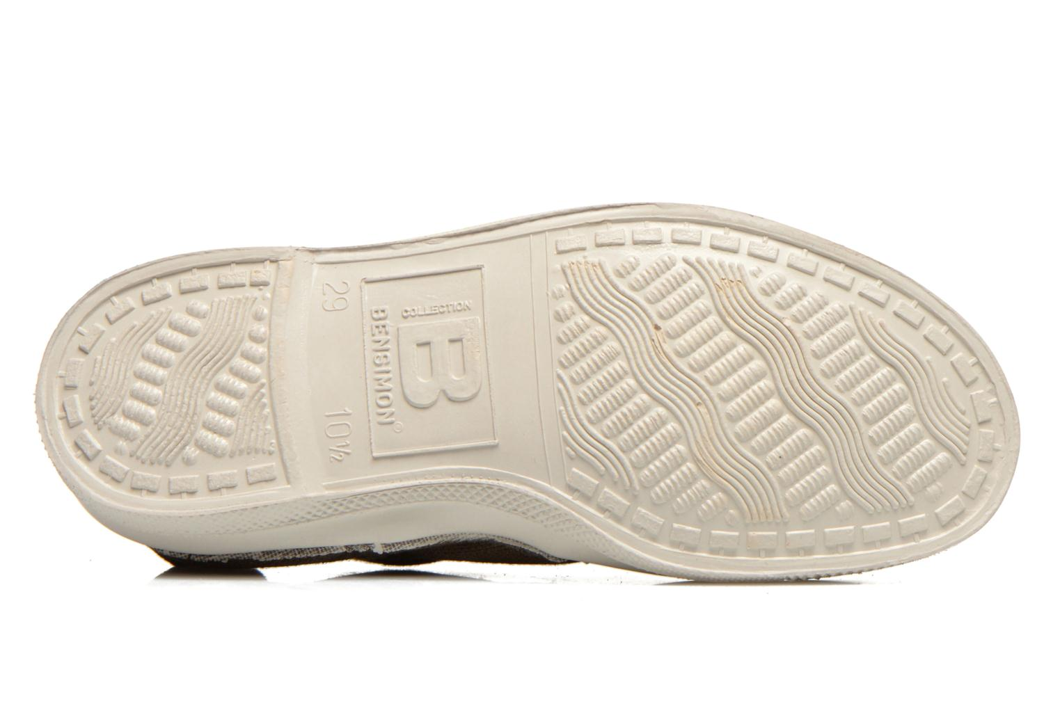 Trainers Bensimon Tennis Elly E Brown view from above