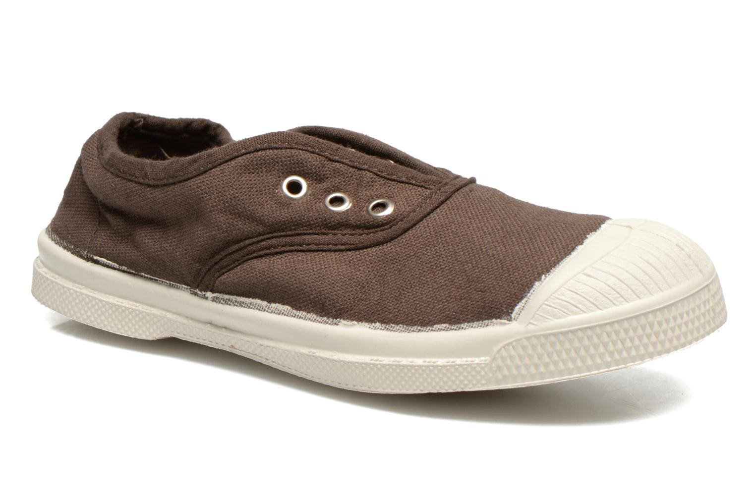 Trainers Bensimon Tennis Elly E Brown detailed view/ Pair view