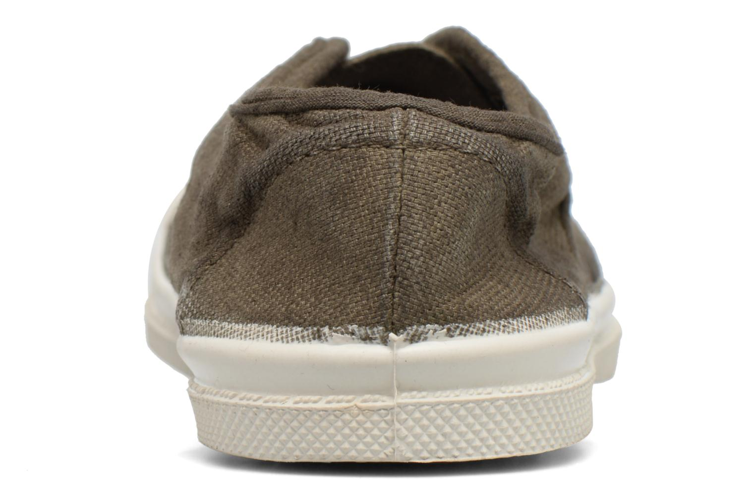 Trainers Bensimon Tennis Elly E Green view from the right