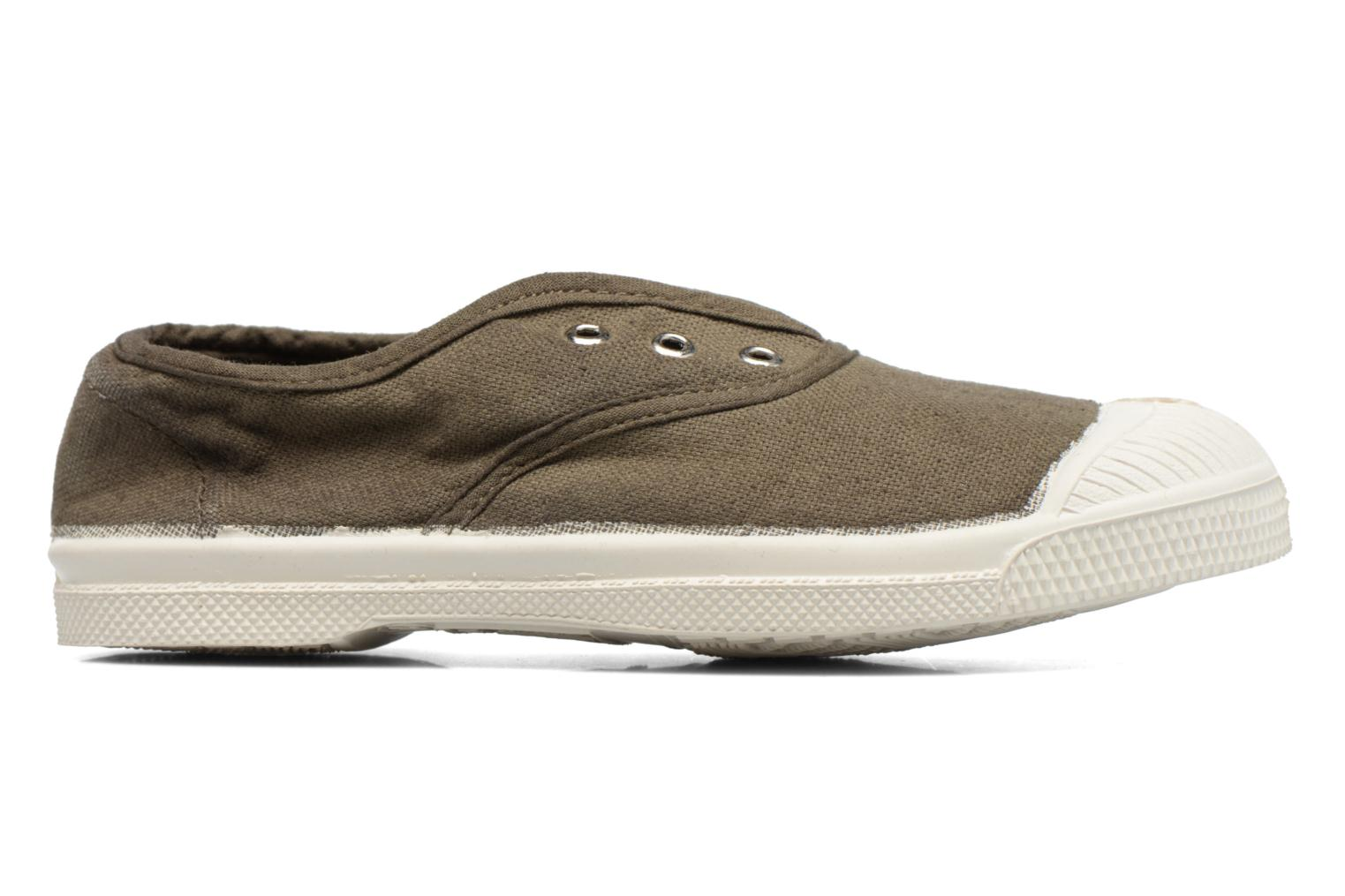 Trainers Bensimon Tennis Elly E Green back view