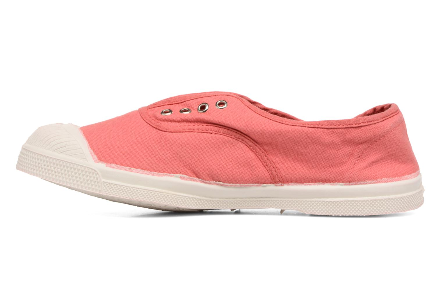 Baskets Bensimon Tennis Elly E Rouge vue face