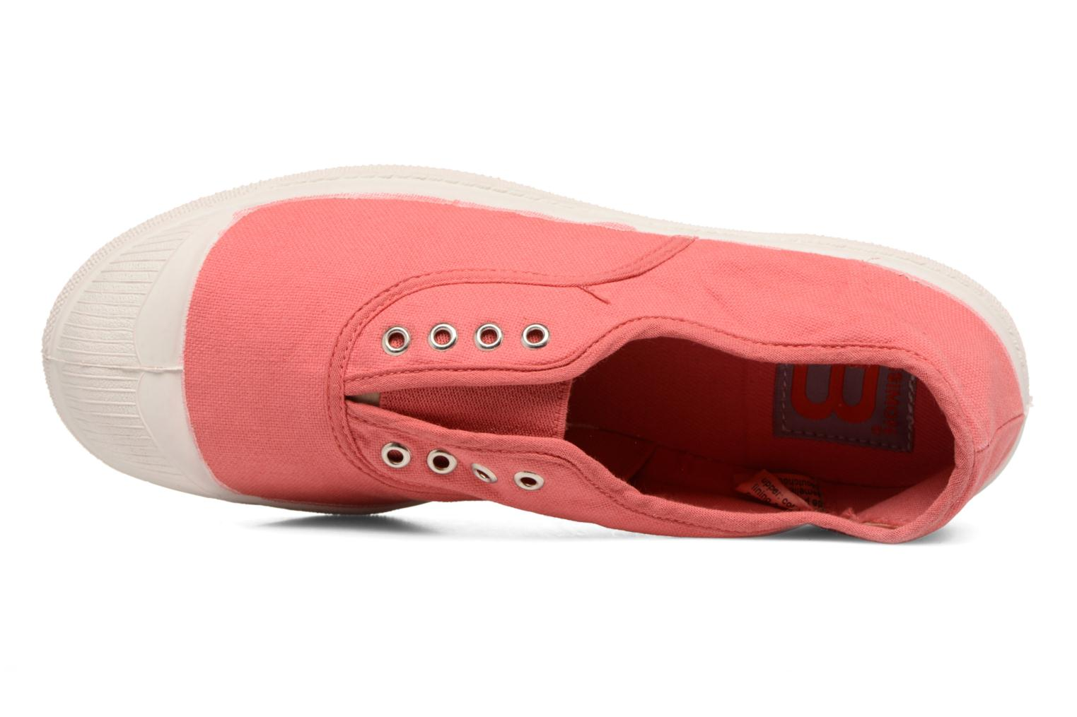 Baskets Bensimon Tennis Elly E Rouge vue gauche
