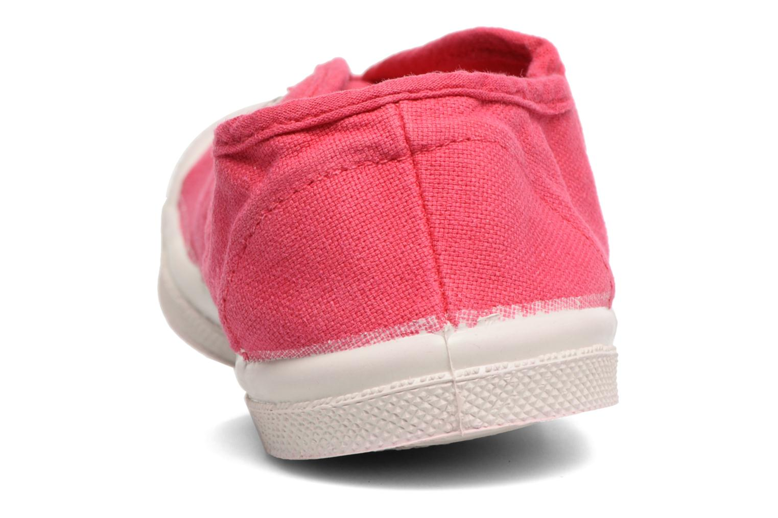 Trainers Bensimon Tennis Elly E Red view from the right