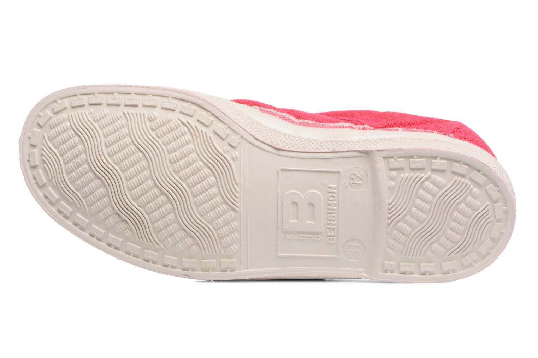 Sneaker Bensimon Tennis Elly E rot ansicht von oben