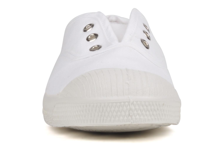 Sneaker Bensimon Tennis Elly E weiß schuhe getragen