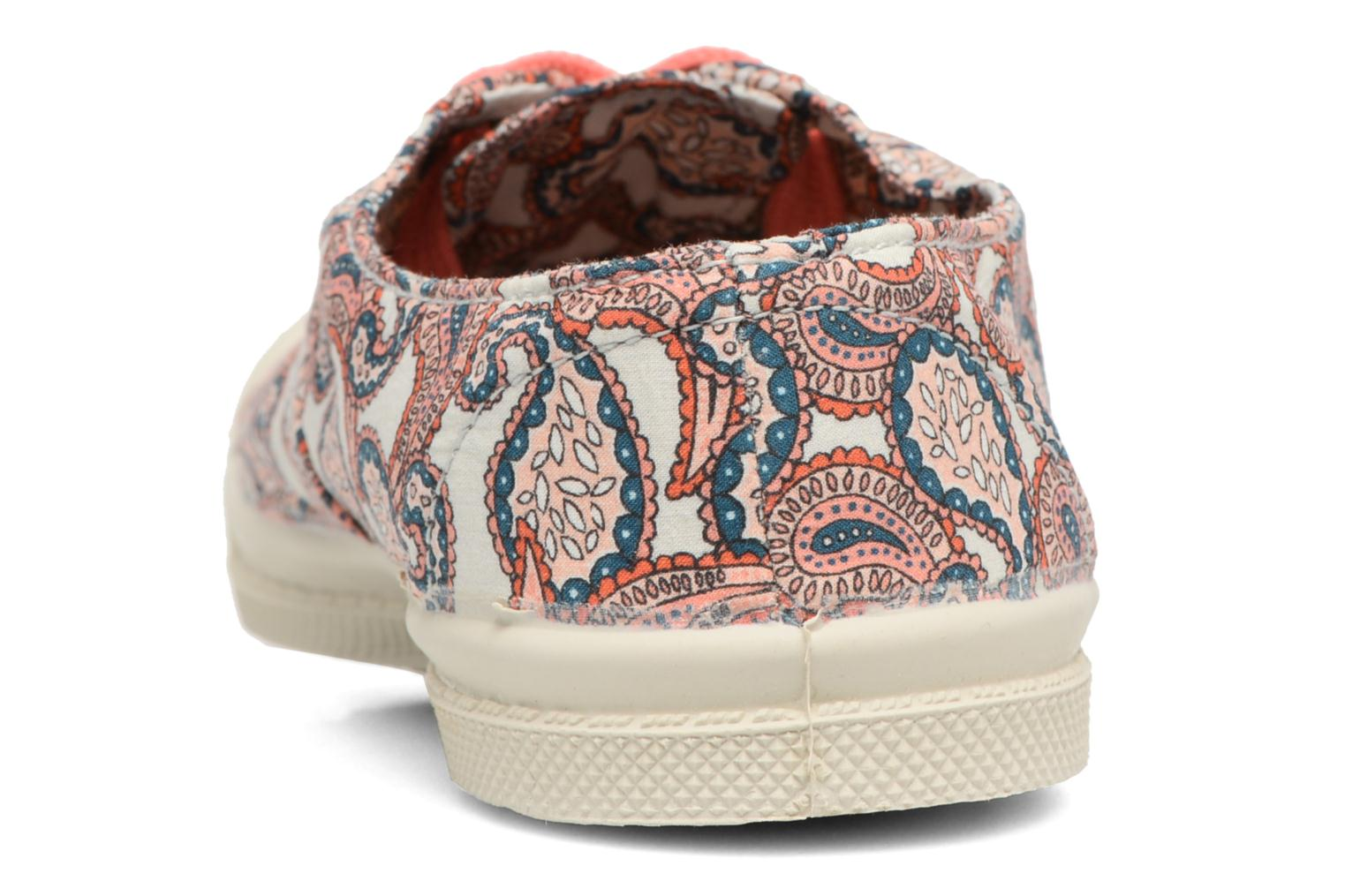 Trainers Bensimon Tennis Liberty E Multicolor view from the right
