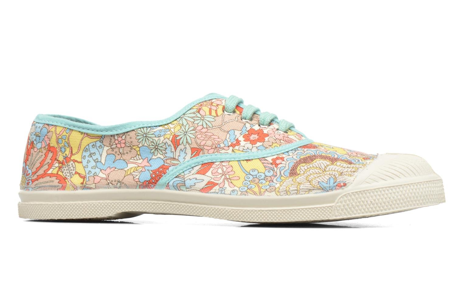 Baskets Bensimon Tennis Liberty Multicolore vue derrière