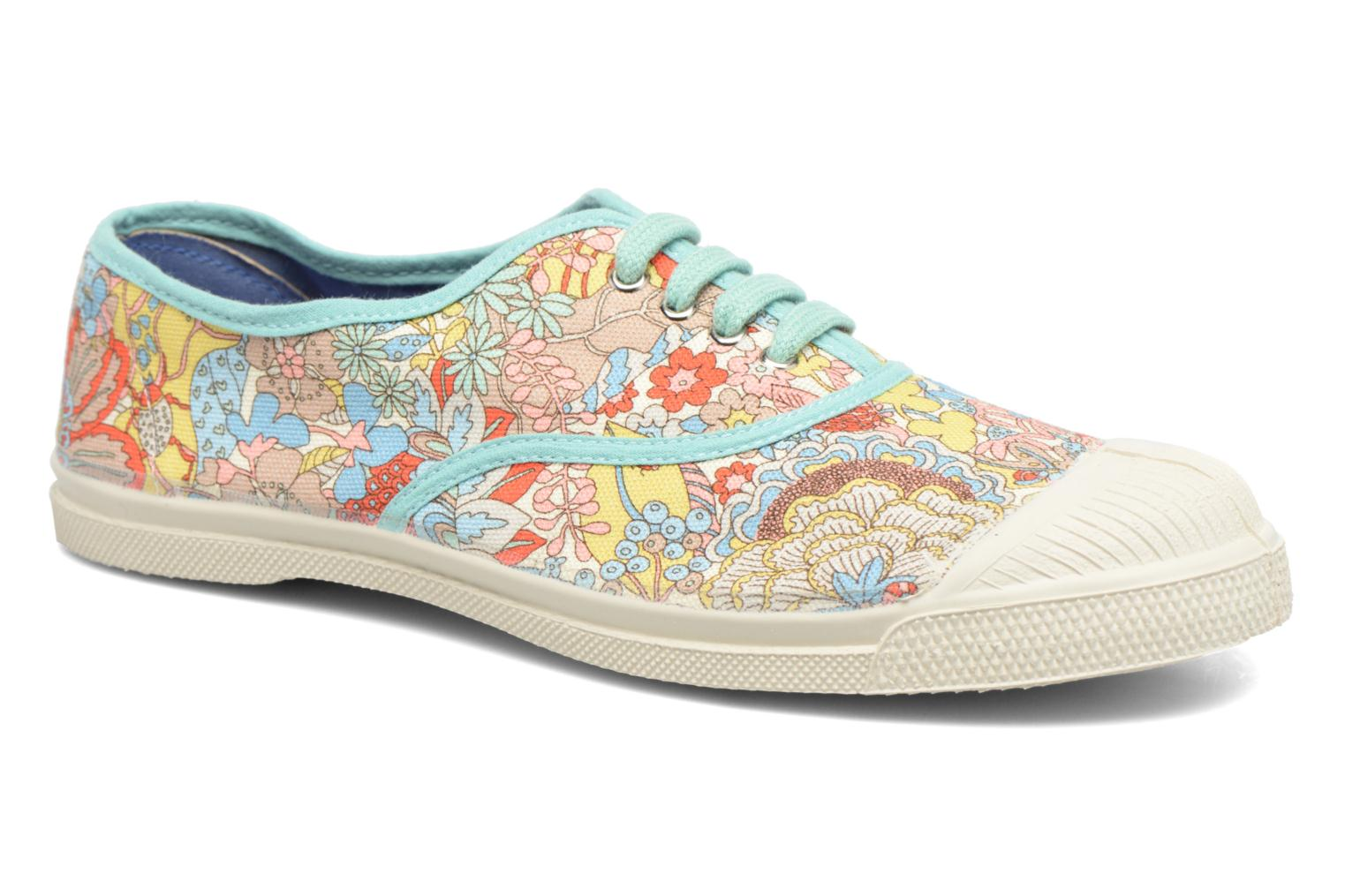 Baskets Bensimon Tennis Liberty Multicolore vue détail/paire