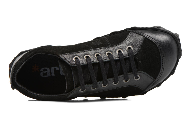Sneakers Art Melbourne 783 Zwart links
