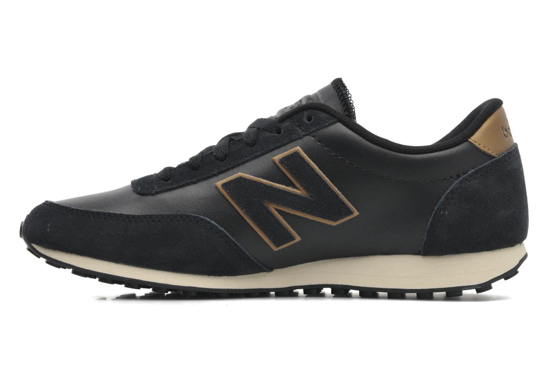 Sneaker New Balance U410 schwarz ansicht von vorne