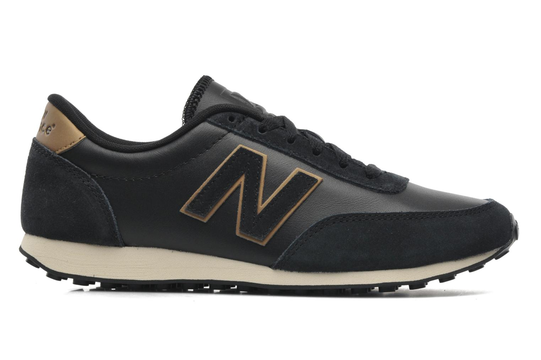 Sneakers New Balance U410 Zwart achterkant