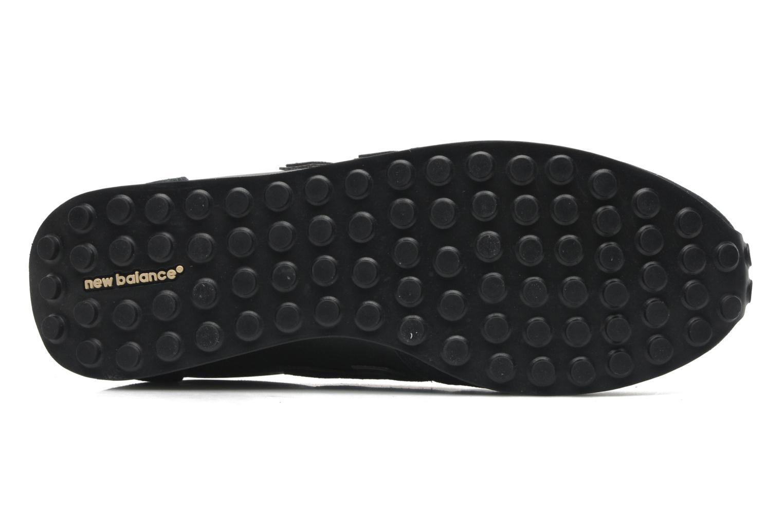 Sneaker New Balance U410 schwarz ansicht von oben