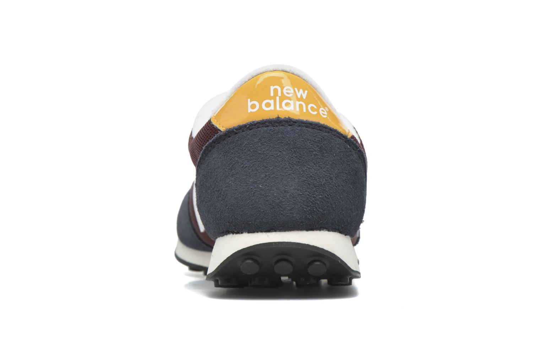 Sneakers New Balance U410 Bordeaux rechts